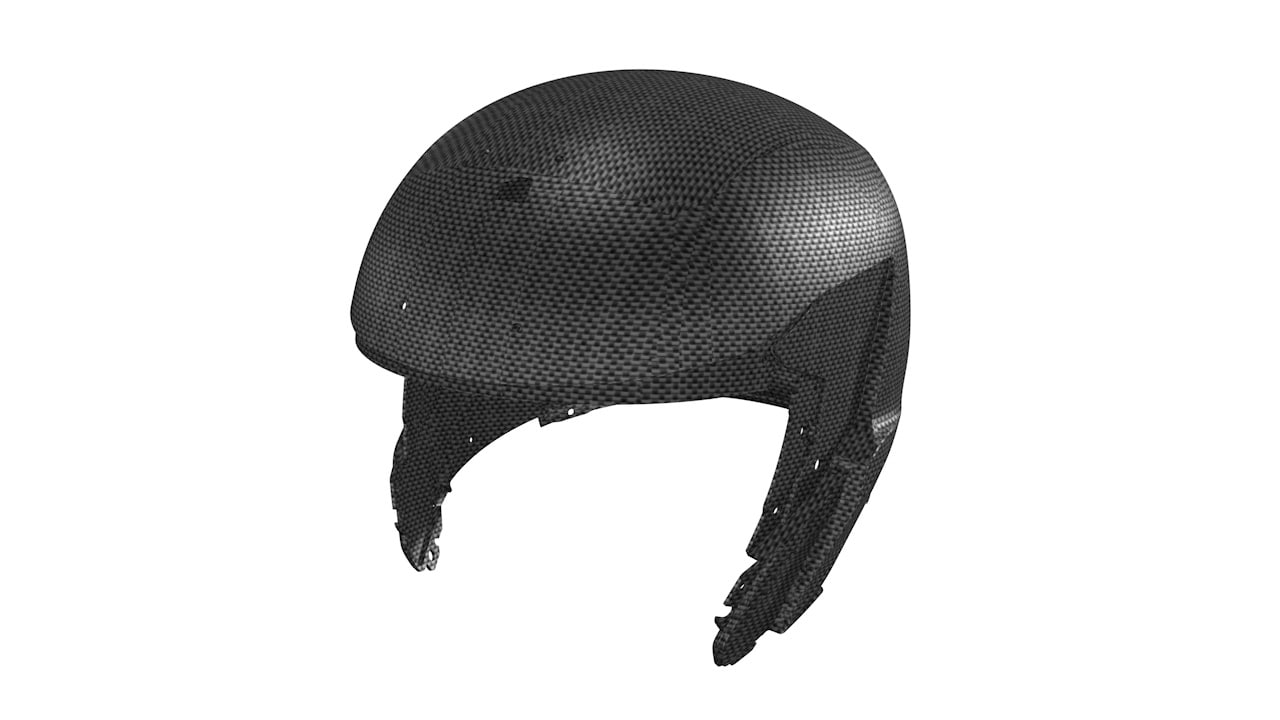 Fully carbon shell System 7 Carbon Helmet