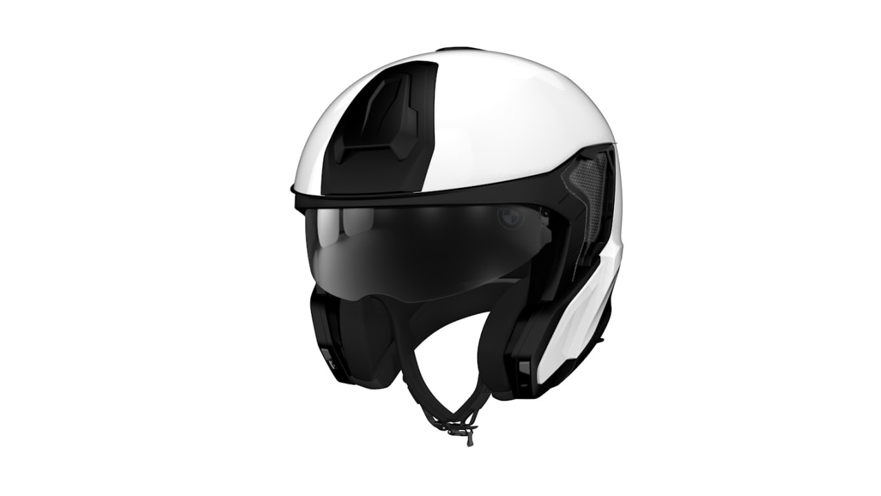 Removable chin section System 7 Carbon Helmet